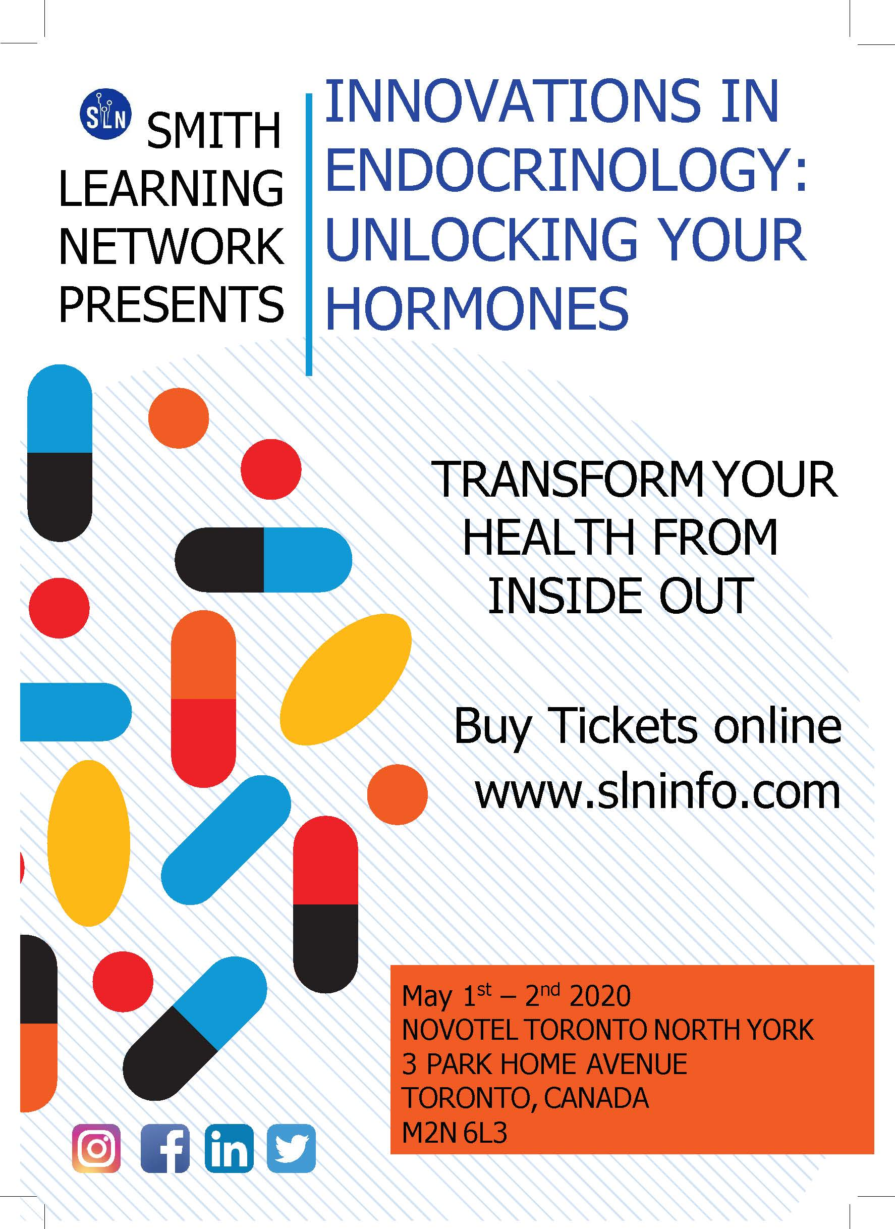 PUBLIC EVENT INNOVATIONS IN ENDOCRINOLOGY: UNLOCKING YOUR HORMONES
